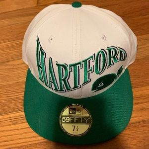 Retro Hartford whalers fitted hat